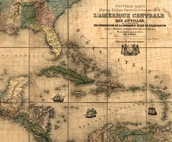 central america physical map new physical political industrial and commercial map of central