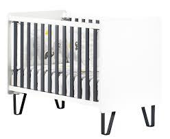 chambre bébé écologique lit bébé graphite sauthon signature moderne design qualité