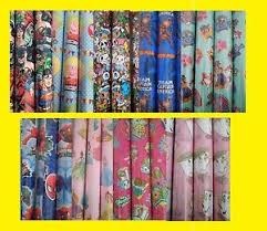 marvel wrapping paper 5m metre roll wrap childrens licenced disney dc marvel gift