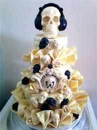 skull wedding cakes skull wedding cakes