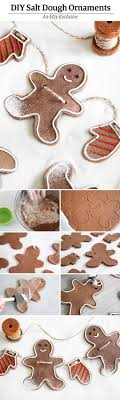 make the sweetest garland of smiling salt dough ornaments with