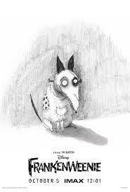 frankenweenie movie clips and imax poster collider