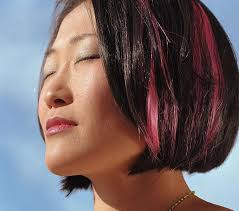 pink highlighted hair over 50 pictures of dark hair with highlights lovetoknow