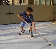 Backyard Rink Liner by Refrigerated Backyard Ice Rinks