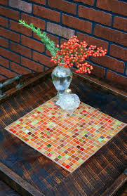 Large Serving Tray For Ottoman by Large Ottoman Tray Large Serving Tray Mosaic Ottoman Tray