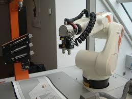real life automation with kuka kr 5 sixx youtube