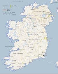 Dublin Ireland Map Ireland Map Map Of Eire And Northern Ireland