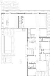 mountain architecture floor plans linear house by studio b architects floor plans pinterest