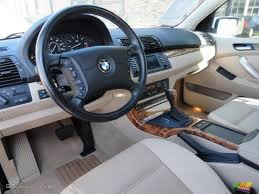 bmw x5 inside beige interior 2002 bmw x5 4 4i photo 45477298 gtcarlot com