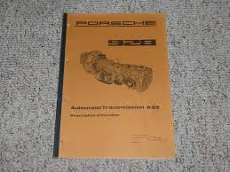 1978 porsche 928 information shop service repair manual 1979 1980