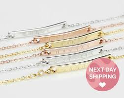 Customized Name Bracelets Custom Name Bracelet Etsy