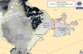 Kotzebue Alaska Map by Alaska Sea Ice Program Satellite Resource Info