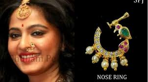 nose rings images images One gram gold nose rings fashionworldhub jpg