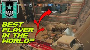 best player in the world rainbow six siege youtube