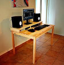 Ikea Furniture Computer Desk Furniture Outstanding Ikea Ingo Table With Simple Computer Desk