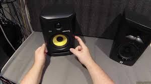 krk home theater z review krk rokit5 powered monitors vs jbl lsr305 youtube