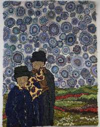 Quilted Rugs Tafa The Textile And Fiber Art List Deanne Fitzpatrick Rug