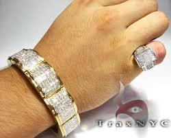 bracelet diamond men images Mercury bracelet mens diamond bracelet yellow gold 14k princess jpeg