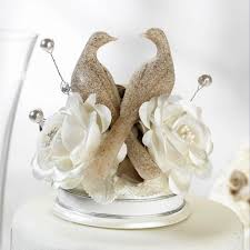 dove cake topper porclain wedding cake tops