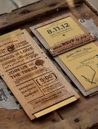 laser cut wood invitations wood wedding invitation afoodaffair me