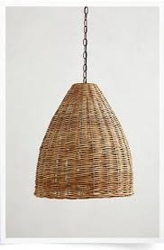 Basket Chandeliers Wicker Chandelier Chandeliers