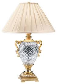 Brass And Crystal Table Lamps Decorative Crafts Brass And Crystal Table Lamp 5133 Victorian