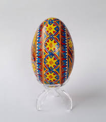 egg decorating supplies blue pysanka ukrainian easter egg golden goose egg pysanka and egg