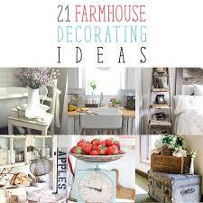 21 Farmhouse Decorating Ideas The Cottage Market
