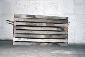 hand made barn wood slat crate set of 3 nesting crates by