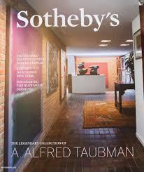 Home Interior Catalog 2015 Sotheby U0027s Magazine Of The Legendary Alfred Taubman November 2015