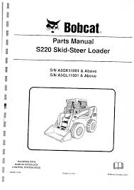 s220 bobcat parts manual documents