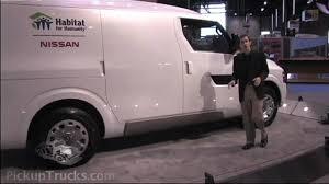 nissan cargo van nv2500 nissan nv2500 commercial van concept at the 2009 ntea work truck