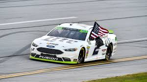 last lap pass propels brad keselowski to victory in wild talladega nascar at talladega superspeedway sunday oct 15
