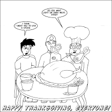 forces of and evil thanksgiving