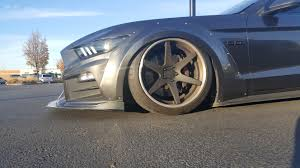 stanced porsche 911 widebody heres a stanced widebody roush stage 3 mustang that i saw at my