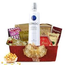 gift baskets to send vodka gift baskets basket delivered send uk absolut etsustore
