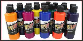 createx airbrush paint auto air candy colors pigment orange