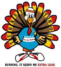 thanksgiving turkey trot run road race cleveland oh ohio clip