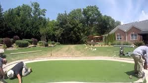 Artificial Backyard Putting Green by Backyard Putting Green Picture With Outstanding Artificial