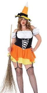 Girls Size Halloween Costumes Kandy Korn Witch 1x 2x Naugnty Size Halloween