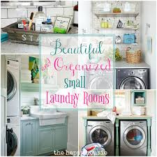 laundry room chic organizing my small laundry room laundry a