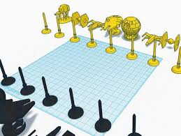 star wars chess sets star wars chess set by jakobs thingiverse
