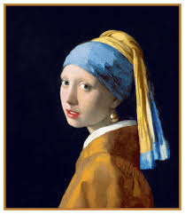 girl with the pearl earring painting girl with the pearl earring detail by johannes vermeer counted