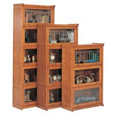 Oak Bookcases With Doors by Barrister Bookcase With Glass Doors Barrister Bookcase Ikea
