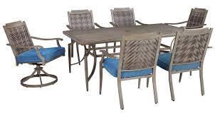 6 Chair Patio Set Partanna Patio Table 6 Chairs