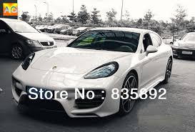 porsche panamera bodykit factory supply pp pu carbon fiber car kit for porsche