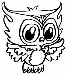 printable pictures of owls kids coloring