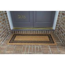 Monogrammed Rugs Outdoor by Door Mats