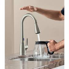 touch sensitive kitchen faucet innovative touch kitchen faucet for house decor plan with