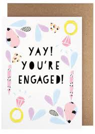 amelia paper lane yay you u0027re engaged card buy birthday cards